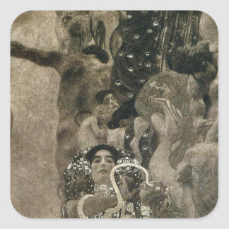 ウィーンの天井の絵画(薬)の大学 スクエアシール