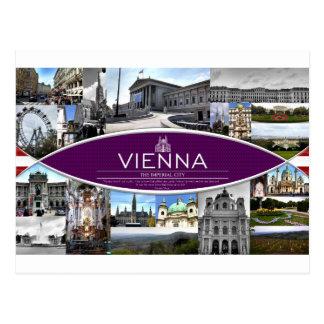 ウィーンの郵便はがき ポストカード