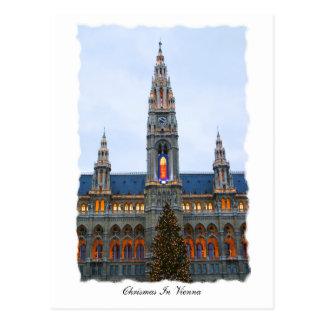 ウィーンのChritsmas ポストカード