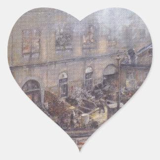 ウィーンのKitschelt Skodagasseの鉄鋳物場 ハートシール