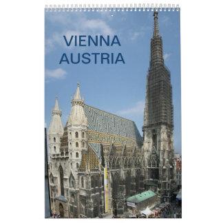 ウィーンオーストリア2018年 カレンダー