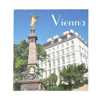 ウィーン、オーストリアの建築 ノートパッド