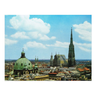 ウィーン、セントスチーブンのカテドラル、オーストリア ポストカード