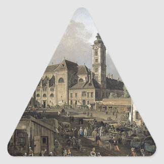 ウィーン、南東からの眺めのFreyung 三角形シール