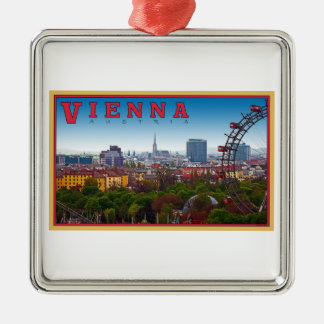 ウィーン-都市景観 メタルオーナメント