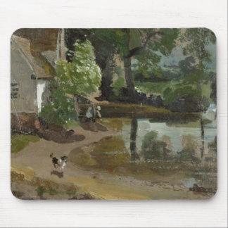 ウイリーLottの家、Flatfordの製造所の近くで、c.1811 (oi マウスパッド