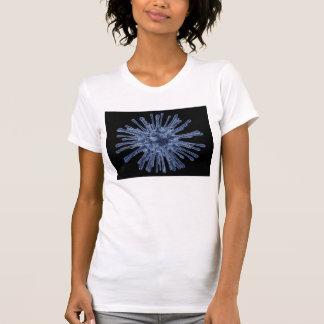 ウイルスによって感染させる細胞 Tシャツ