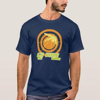 ウイルスに行って下さい Tシャツ