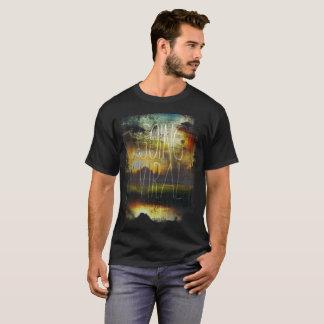 ウイルスに、日没の空行きます、 Tシャツ