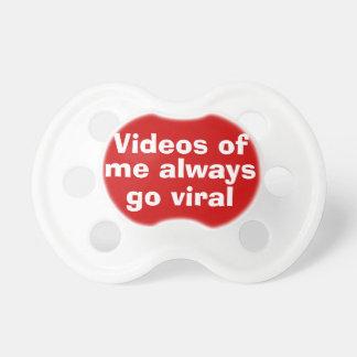 ウイルスのビデオ調停者 おしゃぶり