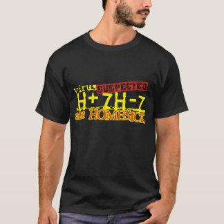 ウイルスH+7H-7 Tシャツ