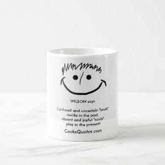 ウイルソンはスマイルのインスピレーションのマグを言います コーヒーマグカップ