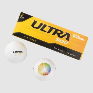 ウイルソンイエス・キリストの超500のゴルフ・ボール/ライト ゴルフボール