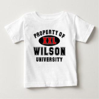 ウイルソン大学の特性 ベビーTシャツ