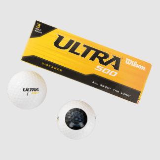 ウイルソン超500の間隔のゴルフ・ボール(3パック)の速度 ゴルフボール