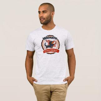 ウインナーの兄弟のダックスフントのTシャツ Tシャツ