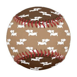 ウインナー犬ファンのためのダックスフントの野球 ベースボール