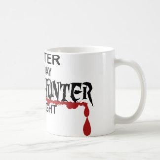 ウェイターのゾンビのハンター コーヒーマグカップ