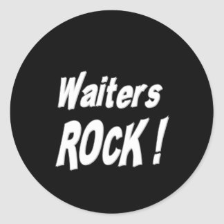 ウェイターの石! ステッカー