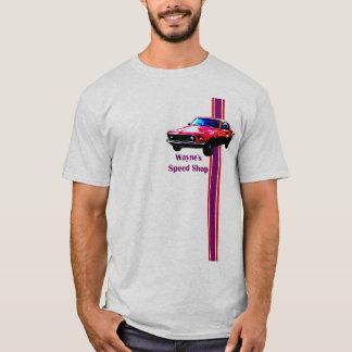 ウェインのムスタングspped店 tシャツ