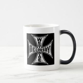 ウェストサイドの回復ogのコップ モーフィングマグカップ