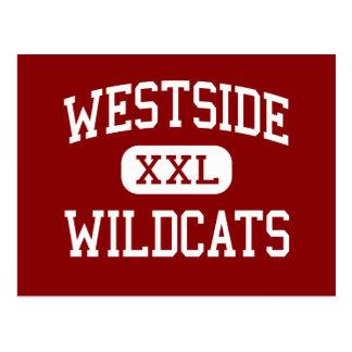 ウェストサイド-山猫-高メンフィステネシー州 ポストカード