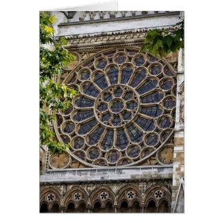 ウェストミンスター寺院-ステンドグラス窓-カード カード