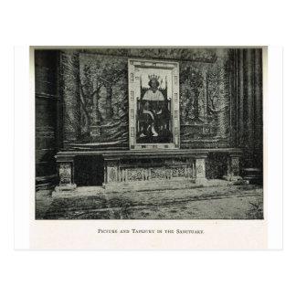 ウェストミンスター寺院、聖域1904年の写真 ポストカード