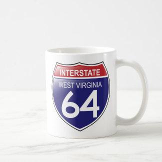 ウェストヴァージニアのマグの州連帯の64 コーヒーマグカップ