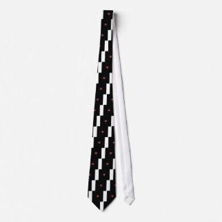 ウェストヴァージニアの国家のための蝋燭のハートのデザイン ネクタイ