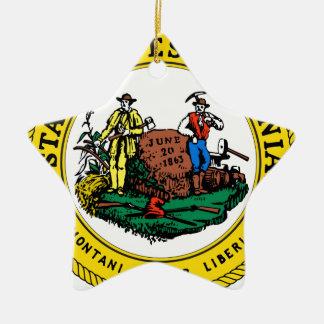 ウェストヴァージニアの国家seal.jpg セラミックオーナメント
