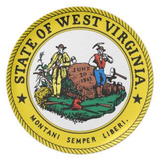 ウェストヴァージニアの国家seal.jpg プレート