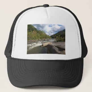 ウェストヴァージニアの川場面 キャップ