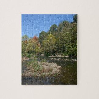 ウェストヴァージニアの川 ジグソーパズル