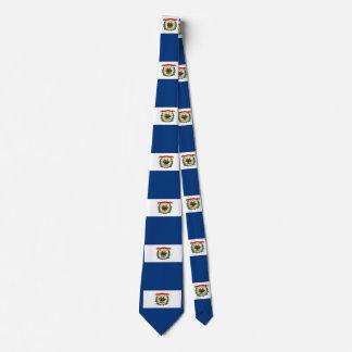 ウェストヴァージニアの州の旗のデザイン ネクタイ