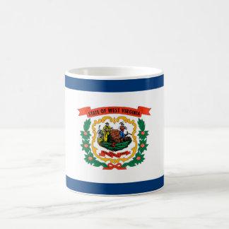 ウェストヴァージニアの州の旗統一されたなアメリカ共和国s コーヒーマグカップ