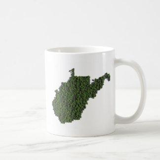ウェストヴァージニアの緑を保って下さい コーヒーマグカップ