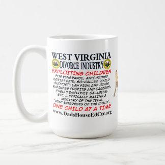 ウェストヴァージニアの離婚の企業 コーヒーマグカップ