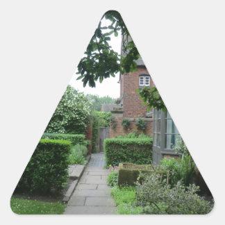 ウェスト・ミッドランズの古いMoseleyホール 三角形シール