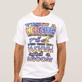 ウェブサイトを訪問して下さいか。 私は除かれて得る十分な時間を使います。 Tシャツ