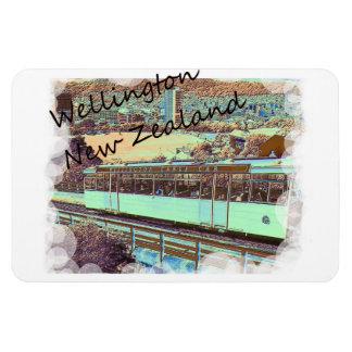 ウェリントンのケーブル・カーの磁石 マグネット