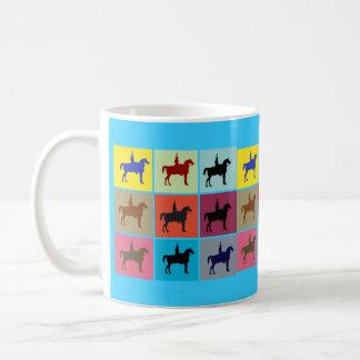 ウェリントンの馬の彫像箱パターンマグの公爵 コーヒーマグカップ