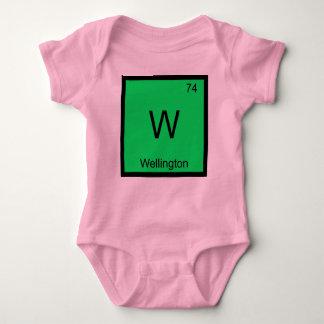 ウェリントン一流化学要素の周期表 ベビーボディスーツ