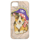 ウェルシュコーギーの海賊 iPhone SE/5/5s ケース