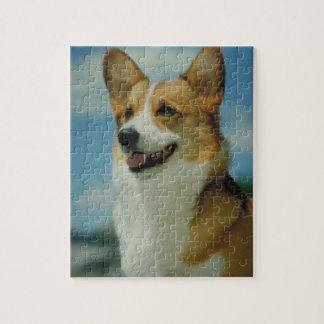 ウェルシュコーギー犬のパズル ジグソーパズル