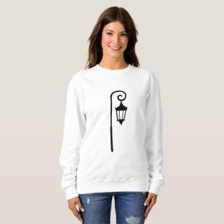 ウェルズリー大学ランプのポストのスエットシャツ スウェットシャツ