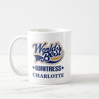 ウェートレスの名前入りなマグのギフト コーヒーマグカップ
