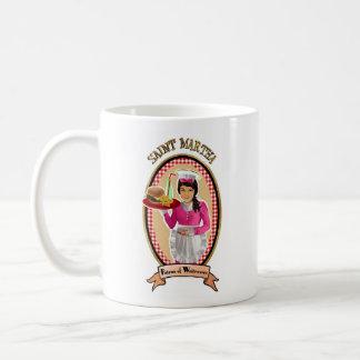 ウェートレスアイコンダイナーのスタイルのマグの守護聖人 コーヒーマグカップ