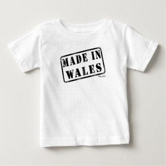 ウェールズで作られる ベビーTシャツ