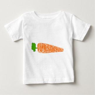 ウェールズのにんじんは愚か者-おもしろいな言語です ベビーTシャツ